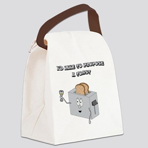 Propose_toast Canvas Lunch Bag