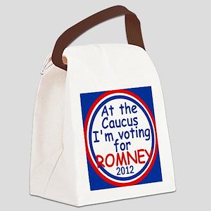 Romney Caucus Canvas Lunch Bag