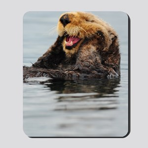 5x8_journal_otter_5 Mousepad