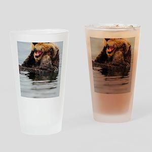 5x8_journal_otter_5 Drinking Glass