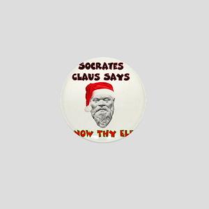 Socrates Claus copy Mini Button