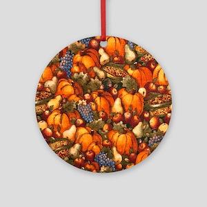 Abundance Round Ornament