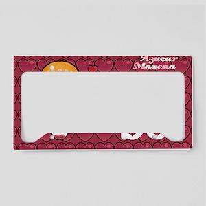 bo monedero License Plate Holder