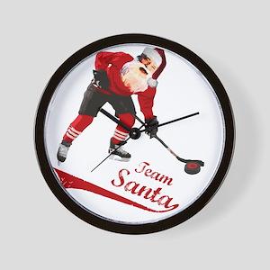 team_santa Wall Clock