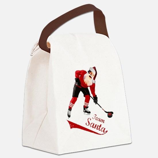 team_santa Canvas Lunch Bag