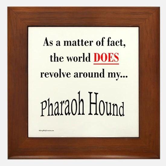 Pharaoh World Framed Tile