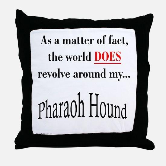 Pharaoh World Throw Pillow