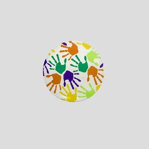 Back to School Handprint copyg Mini Button