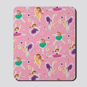 Ballerinas Dancing Mousepad