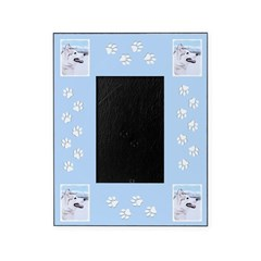 Siberian Husky (Silver and White) Picture Frame