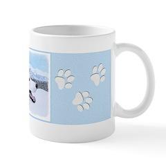 Siberian Husky (Silver and White Mug