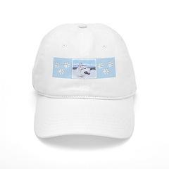 Siberian Husky (Silver and White) Baseball Cap