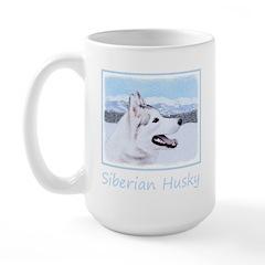 Siberian Husky (Silver an Mug