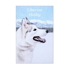 Siberian Husky (Silver and White Posters