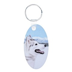 Siberian Husky (Silver and Keychains