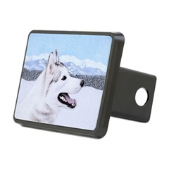 Siberian Husky (Silver and Hitch Cover