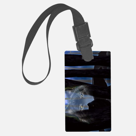 iTouch4_Generic_wolf woods Luggage Tag