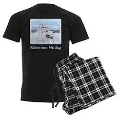Siberian Husky (Silver and Whi Pajamas
