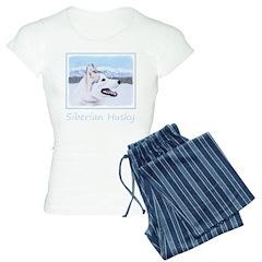 Siberian Husky (Silver and Pajamas
