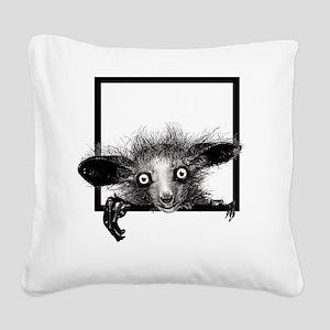 CREEPYFINGERLOGO Square Canvas Pillow