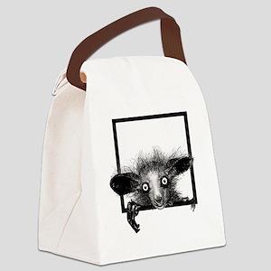 CREEPYFINGERLOGO Canvas Lunch Bag