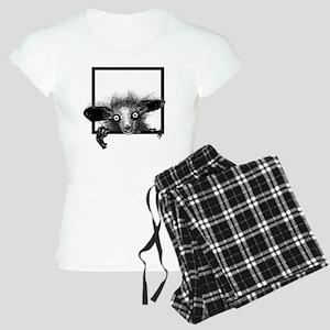 CREEPYFINGERLOGO Women's Light Pajamas