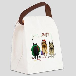 BelgianShirtDark Canvas Lunch Bag