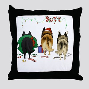 BelgianShirtDark Throw Pillow