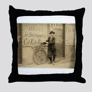 Shreveport, 1913 Throw Pillow