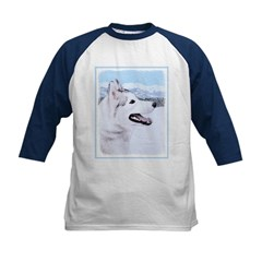 Siberian Husky (Silver and White Tee