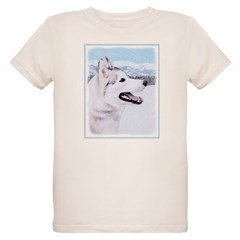 Siberian Husky (Silver and Wh T-Shirt