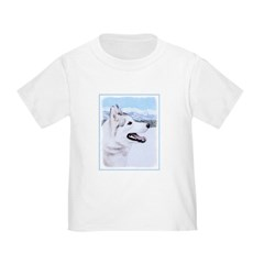 Siberian Husky (Silver and White) T