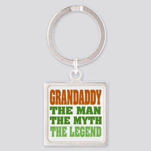 Grandaddy The Legend Square Keychain