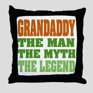 Grandaddy The Legend Throw Pillow