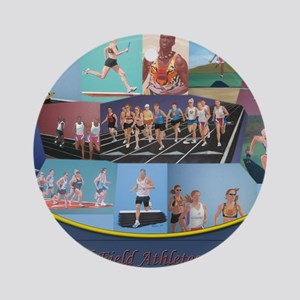 Athletes calendar2 Round Ornament