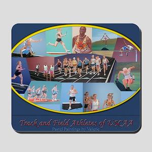 Athletes calendar2 Mousepad