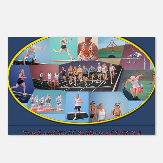 Athletes calendar2 Postcards (Package of 8)