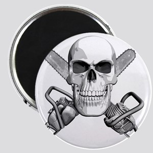 skull_chainsaws Magnet