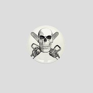 skull_chainsaws Mini Button