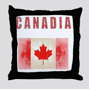 Canadia for Light Colors Original Throw Pillow