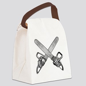 chainsaws Canvas Lunch Bag