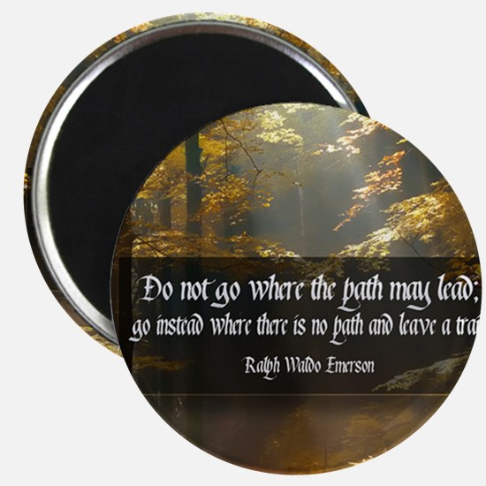 Leave A Trail Quote Magnet
