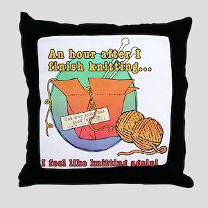 Chinese Knitting Throw Pillow