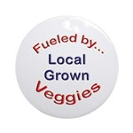 Fueled by Local Ornament (Round)