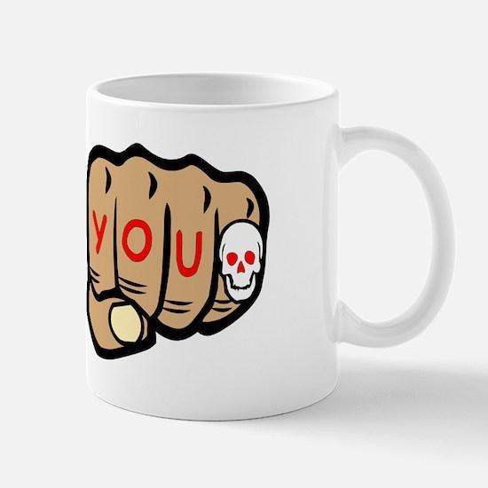 Tattoo You Fists Mug
