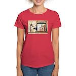 Wieners of the gods Women's Dark T-Shirt