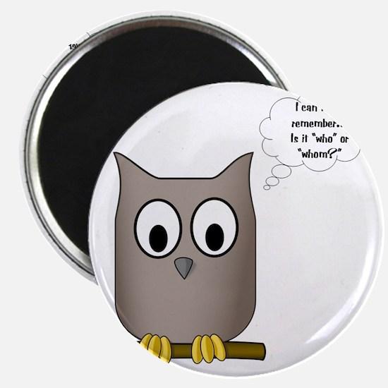 OwlWhoWhom Magnet