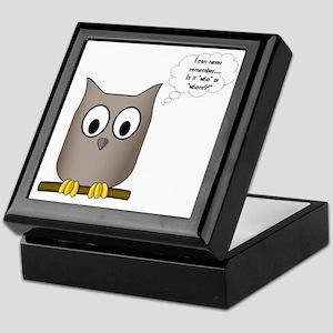 OwlWhoWhom Keepsake Box