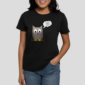 OwlWhoWhom Women's Dark T-Shirt