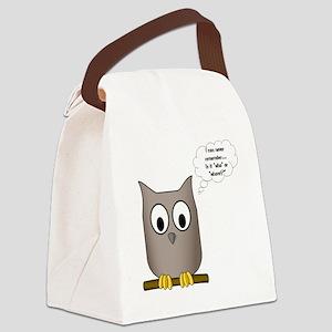 OwlWhoWhom Canvas Lunch Bag